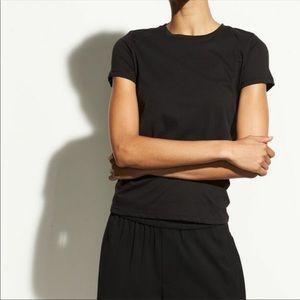 VINCE. Cotton Short Sleeve T-Shirt